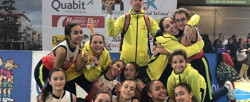 Club Voleibol Nueva Castilla: Campeonas de la Copa de España