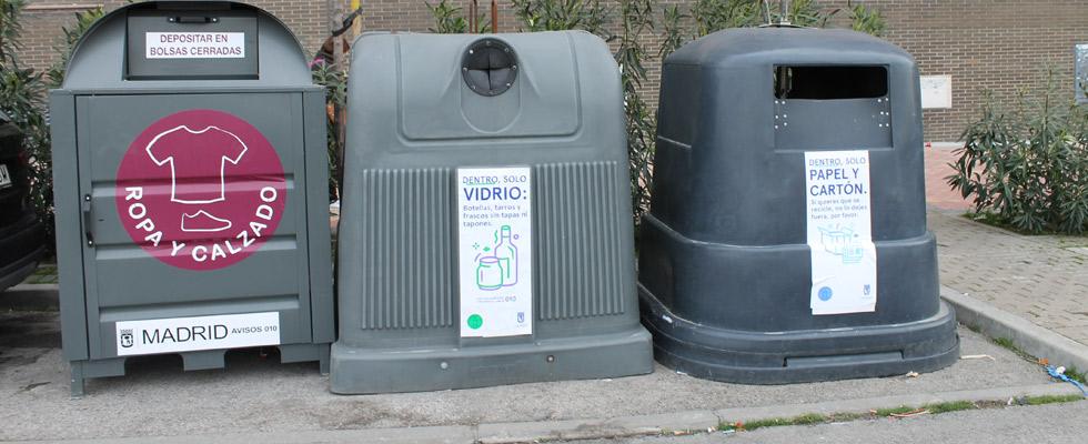 contenedores de ropa usada