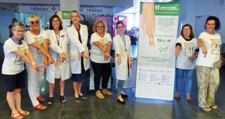 El Hospital Universitario Infanta Leonor se une a la 'Semana mundial de la continencia'