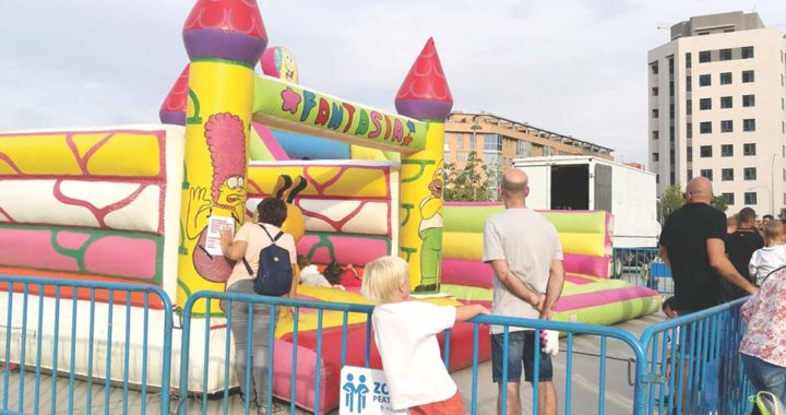 Los niños, protagonistas de las fiestas patronales de Vallecas