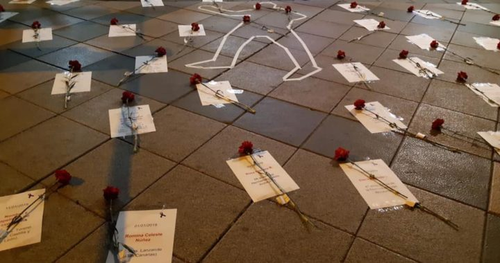 El PSOE de Villa de Vallecas recuerda a las víctimas de la violencia de género