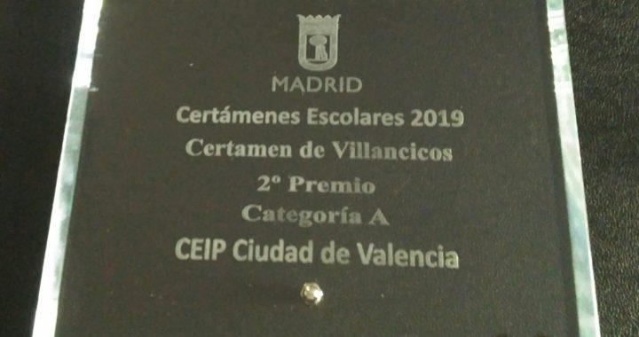 Navidad con premios en el CEIP Ciudad de Valencia
