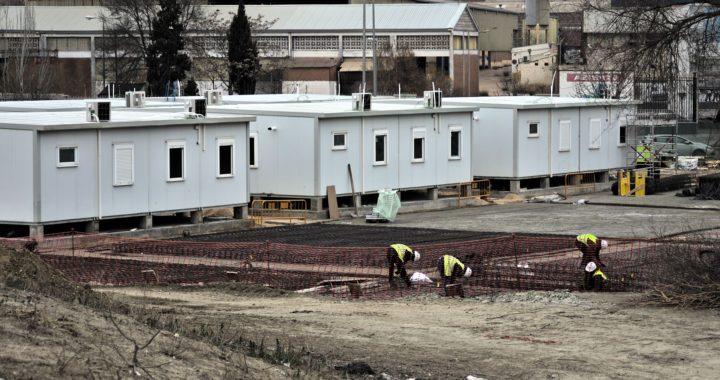 El Pau de Vallecas acoge el Centro temporal de solicitantes de asilo