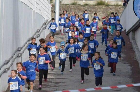 Una carrera infantil solidaria despide nuestro año deportivo en Vallecas