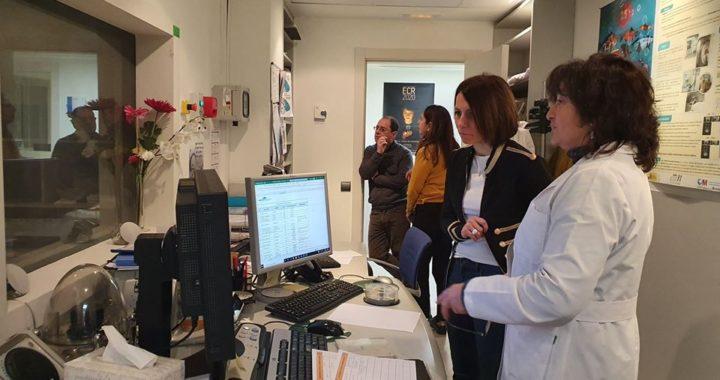 Concha Chapa visita el Centro de Alzheimer de la Fundación Reina Sofía