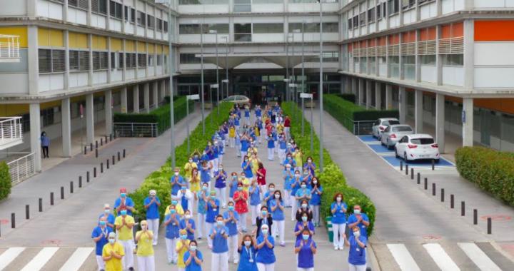 El Hospital Infanta Leonor rinde homenaje a sus profesionales de enfermería en su Día internacional