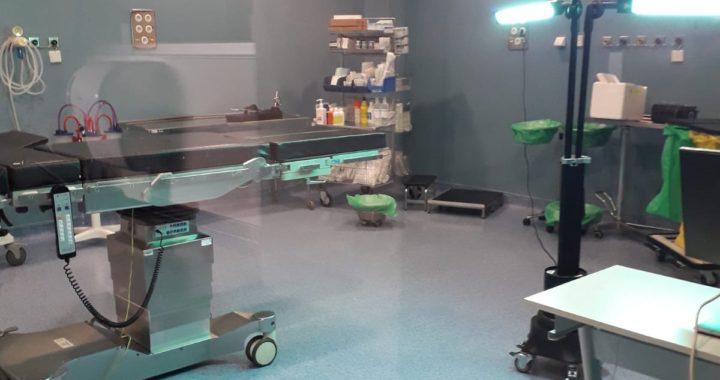 El Hospital Infanta Leonor emplea luz ultravioleta para reforzar la desinfección de sus instalaciones
