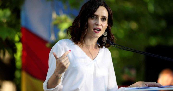 """Díaz Ayuso: """"Esto un ataque político a la Comunidad de Madrid"""""""
