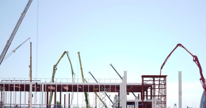 El nuevo Hospital de Emergencias de la Comunidad de Madrid ya alcanza el 35% de su construcción
