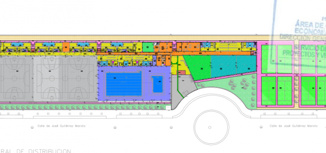El Ayuntamiento autoriza el contrato para la prestación de servicios del nuevo Centro Deportivo Municipal Ensanche de Vallecas