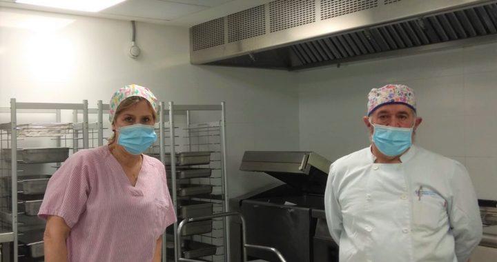 El Hospital Virgen de la Torre, finalista del Concurso de cocina hospitalaria navideña