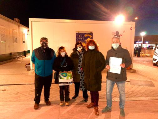 Mascarillas solidarias en la AAVV La Unión