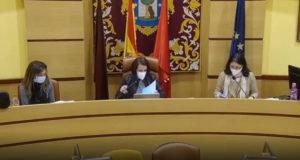 Pleno sobre Cañada Real en Villa de Vallecas