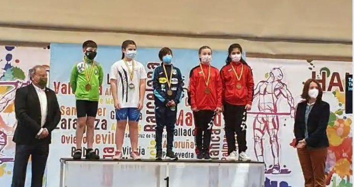 El Campeonato Nacional Escolar de Halterofilia congrega en Vallecas a 55 deportistas