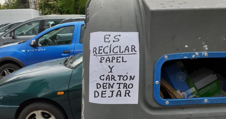 ¿Los contenedores de cartón están para reciclar, o no?