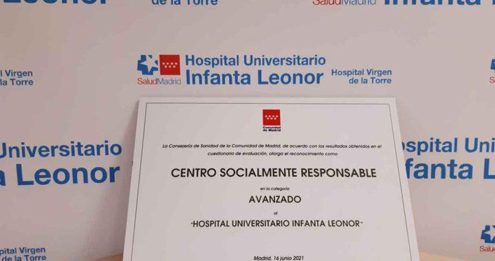 El Hospital Infanta Leonor, Centro Socialmente Responsable