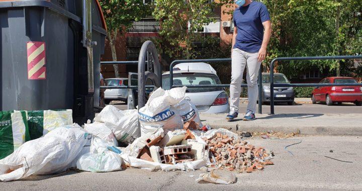 """Ignacio Benito: """"La limpieza de los distritos del sur está bajo mínimos"""""""