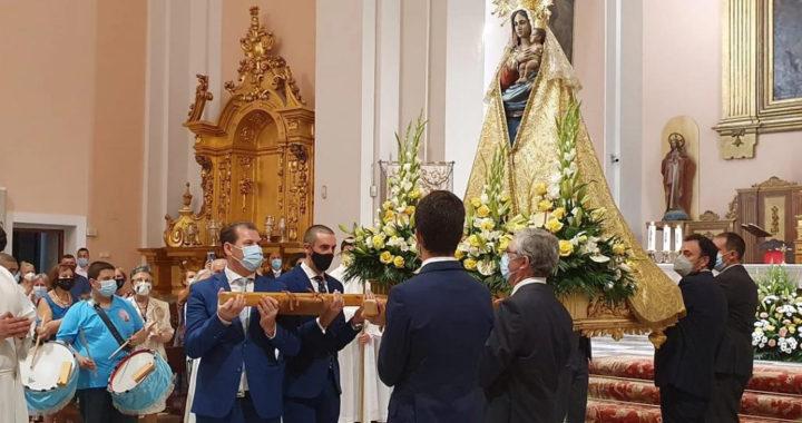 Fiestas sin fiestas, así honró Villa de Vallecas a la Virgen de la Torre