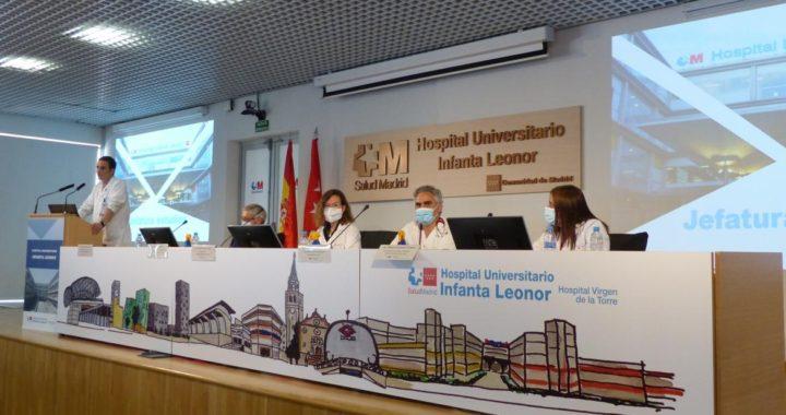 El Hospital Infanta Leonor da la bienvenida a 45 nuevos residentes